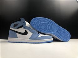 Men Air Jordan 1 High OG University Blue