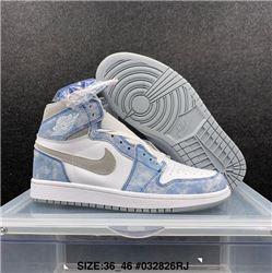 Men Air Jordan I Retro Basketball Shoes 1099