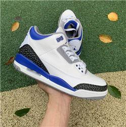 Men Air Jordan 3 Racer Blue