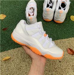 Men Air Jordan 11 Low WMNS Citrus