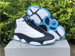 Men Air Jordan 13 Dark Powder Blue