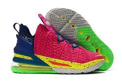 Men Nike LeBron 18 Basketball Shoes 1028