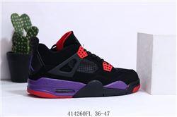 Men Air Jordan IV Retro Basketball Shoes 654