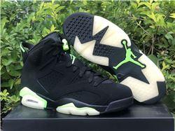 Men Air Jordan 6 Electric Green
