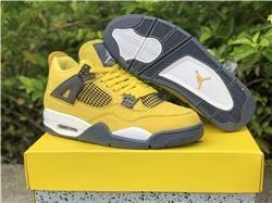 Men Air Jordan 4 Lightning
