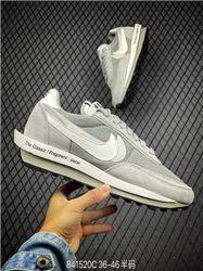 Men Fragment Design x Sacai x Nike LDWaffle Running Shoes AAAA 525
