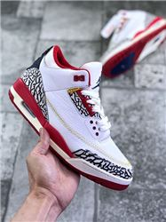 Women Air Jordan III Retro Sneakers AAAA 264