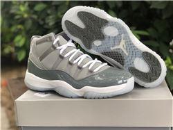 Men Air Jordan 11 Retro Cool Grey