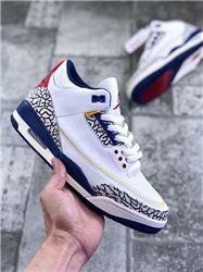 Men Air Jordan III Retro Basketball Shoes AAAA 455