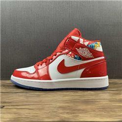 Women Air Jordan 1 Retro Mid Sneakers AAAA 82...