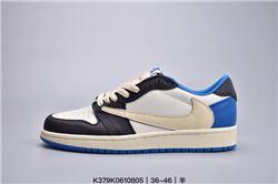 Men Air Jordan I Retro Low Basketball Shoes 1...