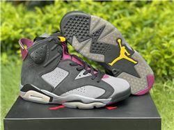 Men Air Jordan 6 Bordeaux