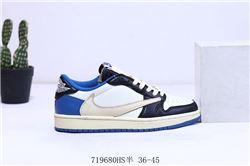 Men Air Jordan I Retro Low Basketball Shoes A...