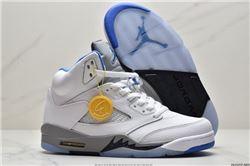Women Air Jordan V Retro Basketball Shoes AAAA 282
