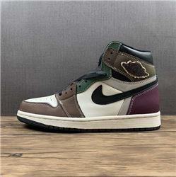 Men Air Jordan I Retro High Basketball Shoes AAAAA 1145