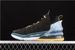 Men Nike LeBron 18 Basketball Shoes AAAAA 100...
