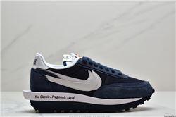 Women Fragment Design x Sacai x Nike LDWaffle Sneakers AAAAA 390