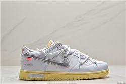 Women Off White x Nike SB Dunk Low Sneakers AAAAA 443