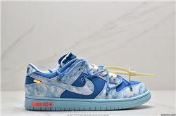 Women Off White x Nike SB Dunk Low Sneakers AAAA 446