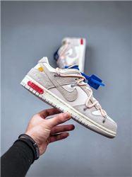 Women Off White x Nike SB Dunk Low Sneakers AAA 448