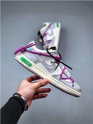 Women Off White x Nike SB Dunk Low Sneakers AAA 451