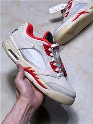 Men Air Jordan V Retro Low Chinese NewYear Basketball Shoes AAAA 464