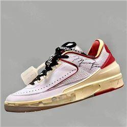 Men Off-White x Air Jordan 2 Low Basketball Shoes AAAAAA 220
