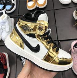 Kids Air Jordan I Sneakers 360