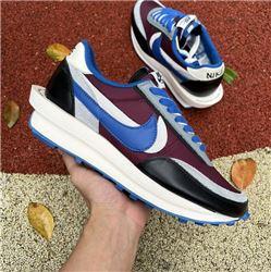 Men Undercover x Sacai x Nike LDV Waffle Daybreak Bright Citron Running Shoes AAAAA 548