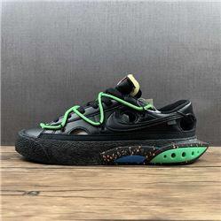 Women Off White x Nike Blazer Low Sneakers AA...