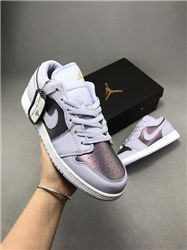 Women Sneaker Air Jordan 1 Retro Low AAAA 489