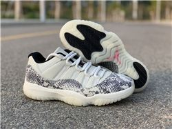 Men Air Jordan 11 Low SE Snakeskin AAAAAA 468