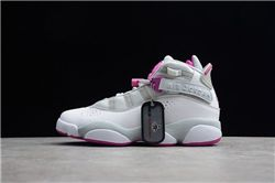 Women Air Jordan VI Rings Sneakers AAAAA 289