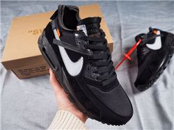 Men Nike Air Max 90 x Off White Running Shoes AAAA 494