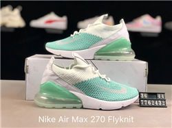 Women Nike Air Max 270 Weave Sneaker AAAA 204